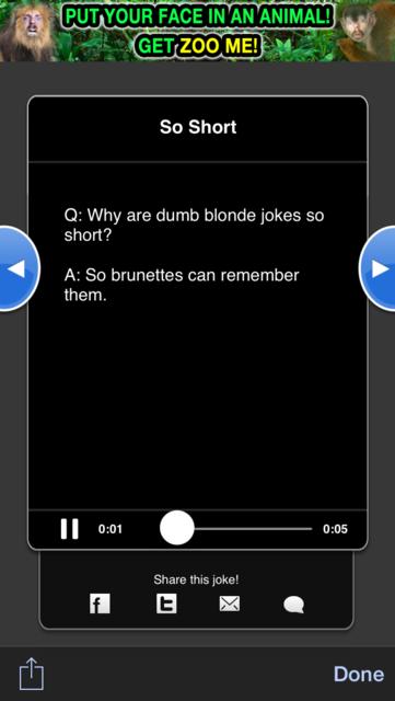 Super Blond Jokes screenshot 3