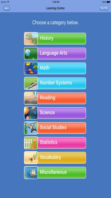 7th Grade Friendzy - Reading, Math, Science screenshot 2