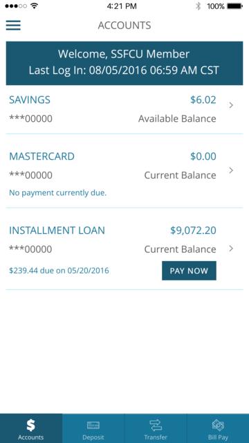 Security Service myBranch App screenshot 2