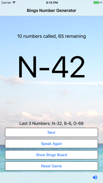 Bingo Number Generator screenshot 4