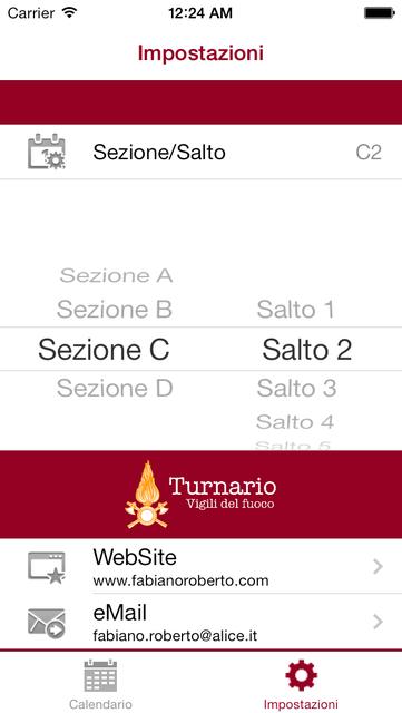 Calendario Vvf.About Turnario Vvf Ios App Store Version Turnario Vvf