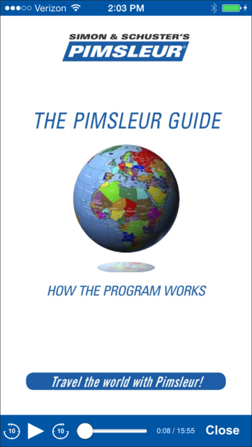 Pimsleur Course Manager screenshot 3
