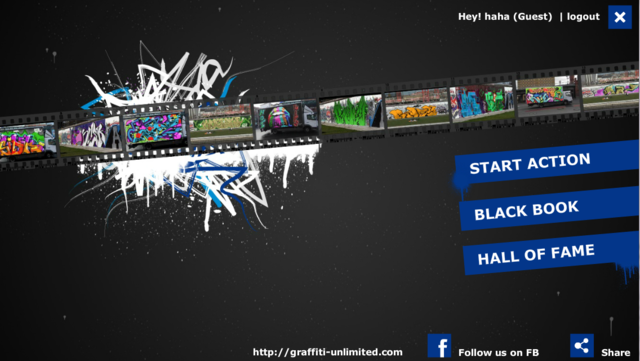 Graffiti Unlimited Pro screenshot 1