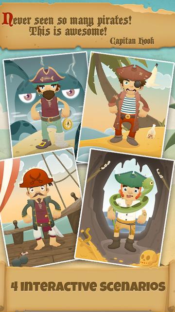 1000 Pirates Games for Kids screenshot 10