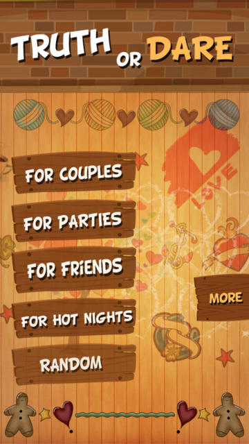 TRUTH or DARE Dirty Party Game screenshot 2
