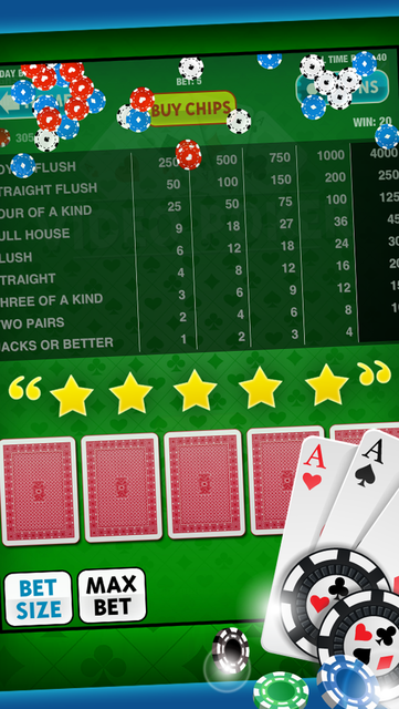 Video Poker Free Game: King of the Cards! for iPad and iPhone Casino Apps screenshot 9