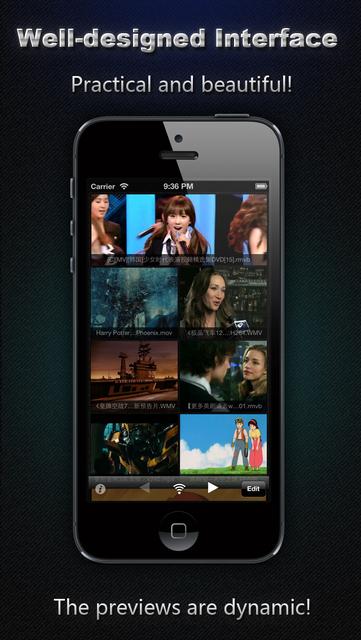 AVI, FLV, WMA, MPEG, RMVB, MP4 Player screenshot 2