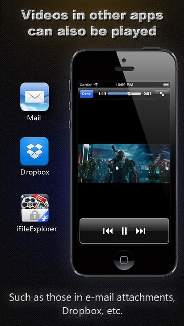 AVI, FLV, WMA, MPEG, RMVB, MP4 Player screenshot 5