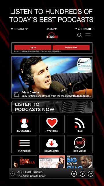 PodcastOne screenshot 1