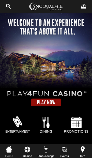 Snoqualmie Casino screenshot 1