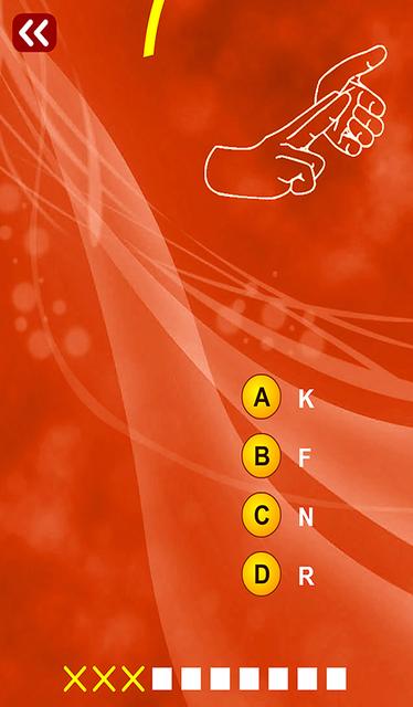 Sign Language Quiz (Multiple Choice) screenshot 2