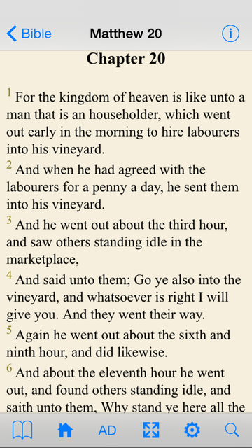 Holy Bible (Classic KJV) screenshot 2