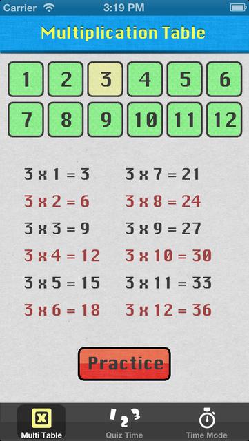Multiplication Hero screenshot 1