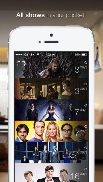 TeeVee 3 - Your TV Shows Guru screenshot 2