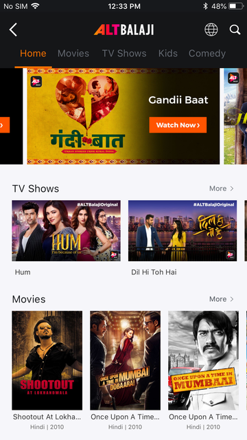 YuppTV - Live TV & Movies screenshot 8