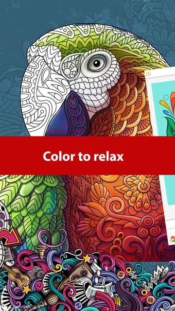 Doodle Color: Coloring Book screenshot 6