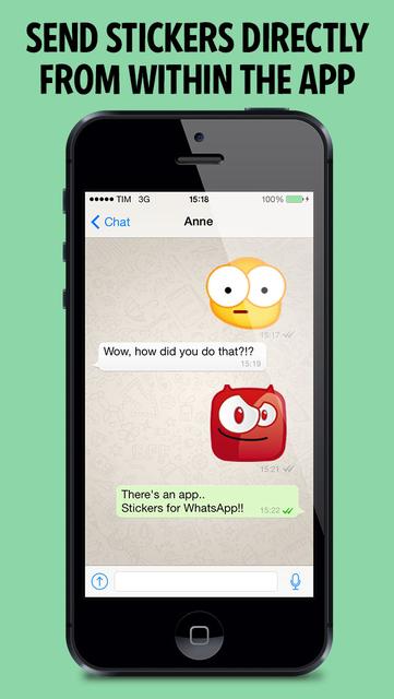 Stickers for WhatsApp! screenshot 1
