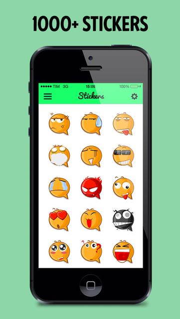 Stickers for WhatsApp! screenshot 2