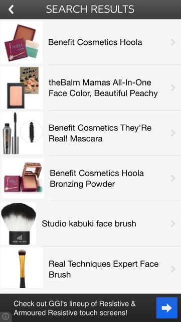Makeup Price Check screenshot 3