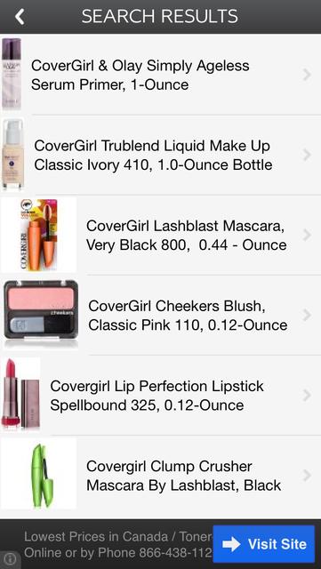 Makeup Price Check screenshot 5