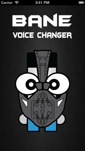 Bane Voice Changer Face Filter screenshot 3