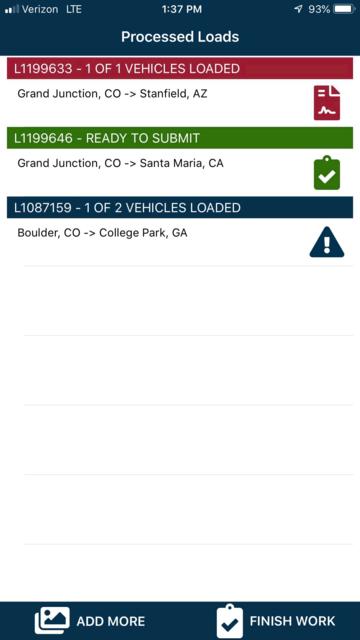 1Dispatch Carrier App screenshot 5
