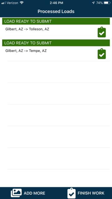 1Dispatch Carrier App screenshot 6