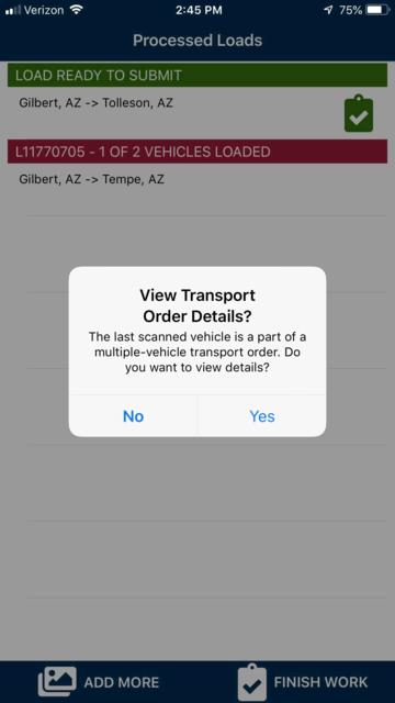 1Dispatch Carrier App screenshot 7