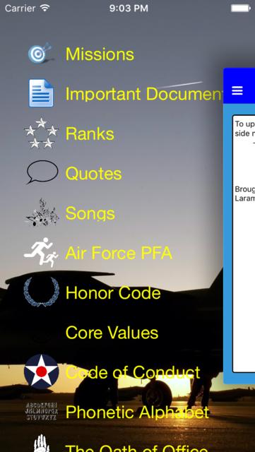 Air Force Warrior Knowledge screenshot 1