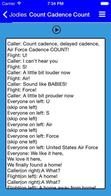 Air Force Warrior Knowledge screenshot 4