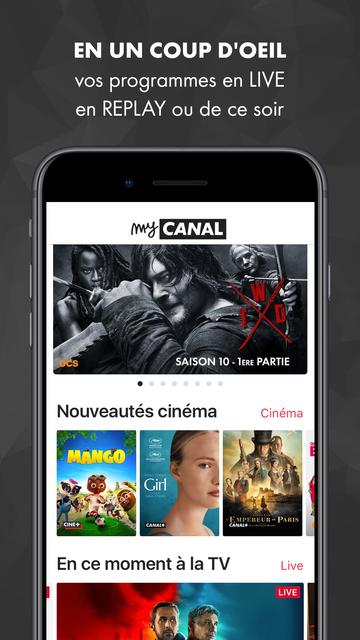 myCANAL screenshot 9