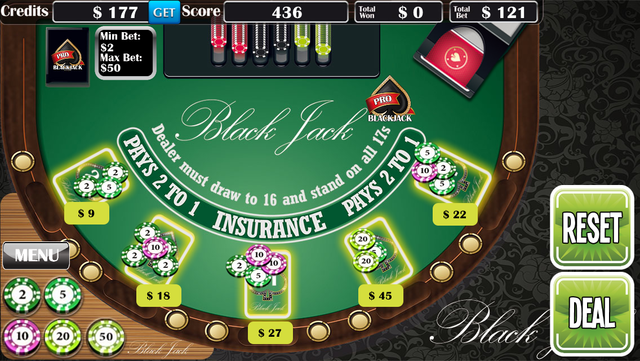 Blackjack Pro­ screenshot 2