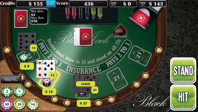 Blackjack Pro­ screenshot 3