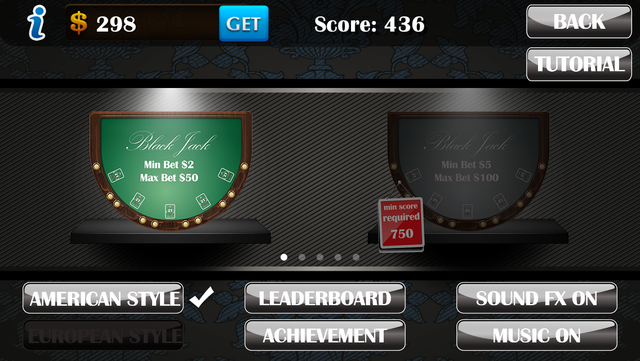 Blackjack Pro­ screenshot 4