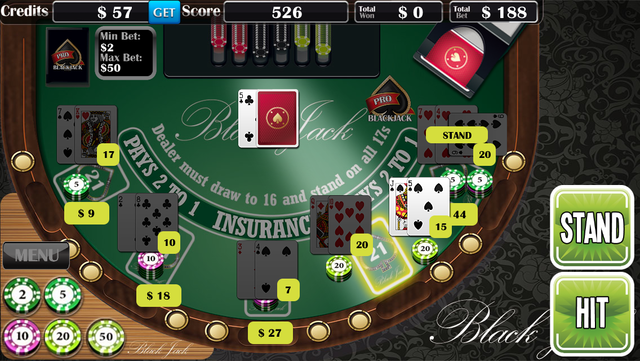 Blackjack Pro­ screenshot 5