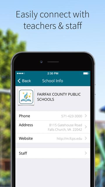 Fairfax County Public Schools screenshot 2