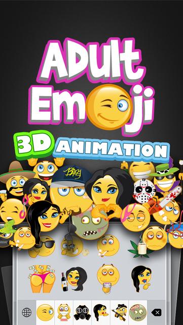 Adult Emoji Animated screenshot 1