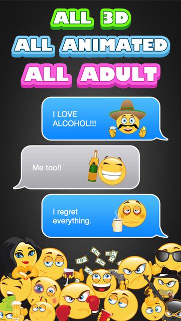 Adult Emoji Animated screenshot 2