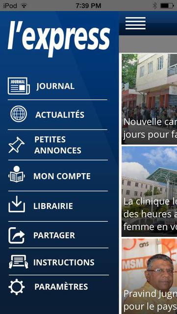 L'Express (La Sentinelle LTD) screenshot 2