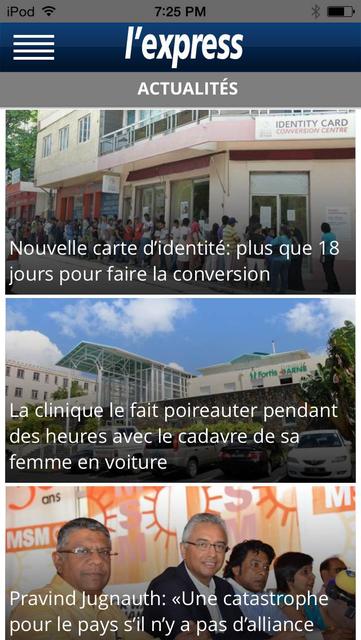 L'Express (La Sentinelle LTD) screenshot 3