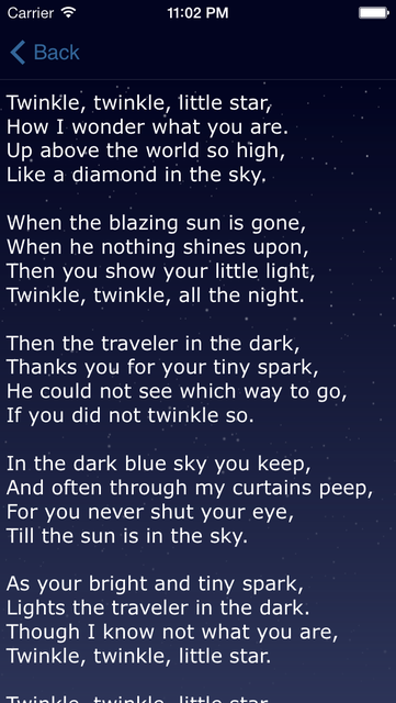 Lullaby Lyrics + Words to Lullabies, Kid Songs screenshot 2