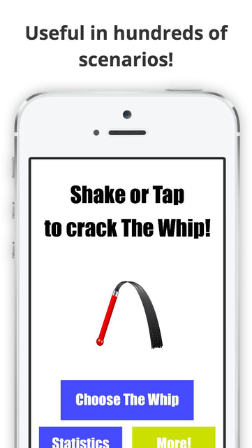 The Whip Sound App Original screenshot 4