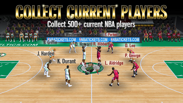 NBA Battle in the Paint screenshot 1