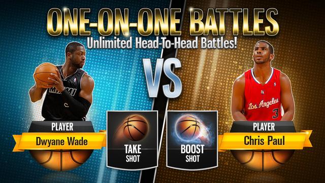 NBA Battle in the Paint screenshot 2