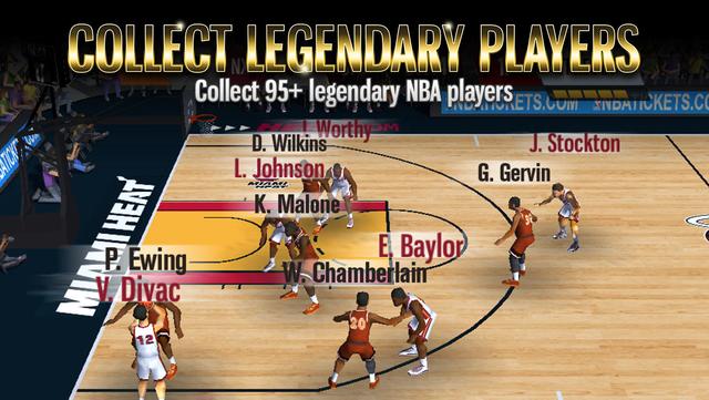 NBA Battle in the Paint screenshot 3