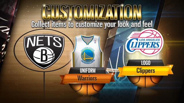 NBA Battle in the Paint screenshot 4