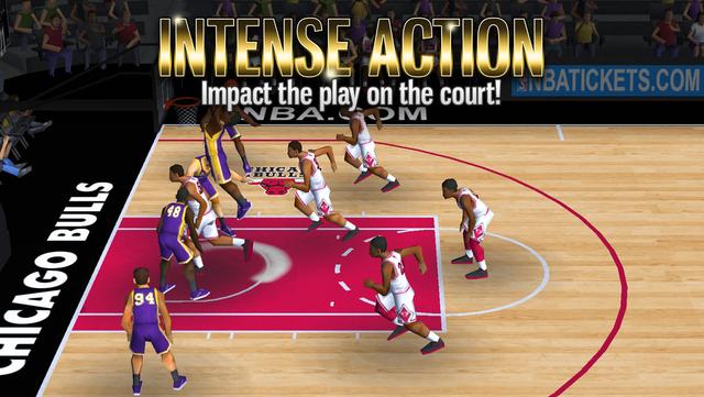 NBA Battle in the Paint screenshot 5