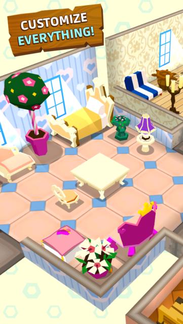 Castaway Paradise Town Builder screenshot 4