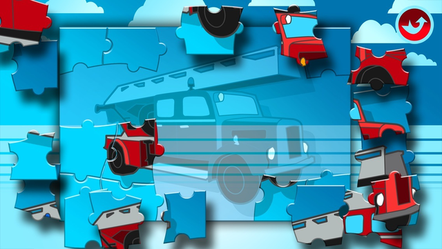 Fire Trucks Activities for Kids: Puzzles, Drawing and other Games screenshot 4