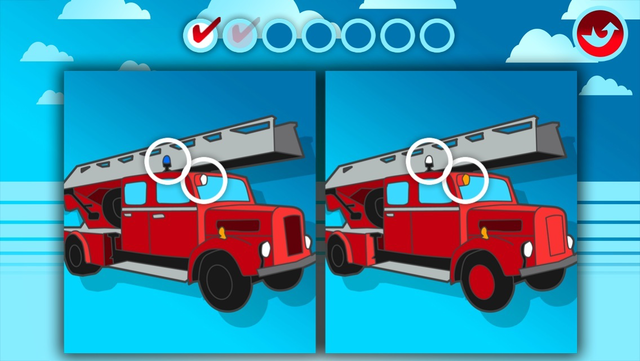 Fire Trucks Activities for Kids: Puzzles, Drawing and other Games screenshot 3